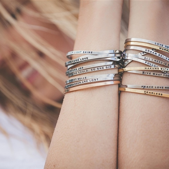 c8e5e70a2a8 Mantraband Jewelry | Mantra Band Set Of 5 Bangle Bracelets | Poshmark